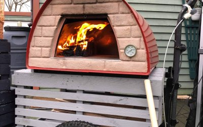 400 degree wood fired pizza oven