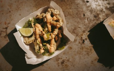 Szechuan Pepper Squid