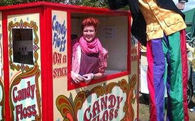 Candy Floss Kiosk