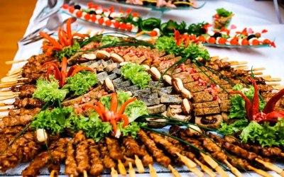 Flexible outdoor catering packages to suit any party or event