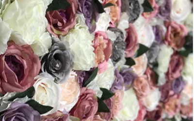 Amaize Flower Wall Hire Yorkshire
