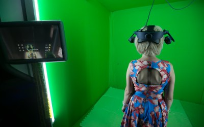 """The mixed reality screen shows guests you """"inside the game"""""""