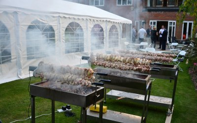 Catering for Large Parties