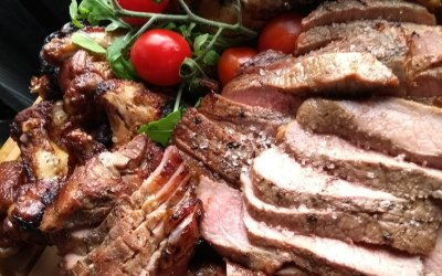 One of our many Meat sharing platter offers