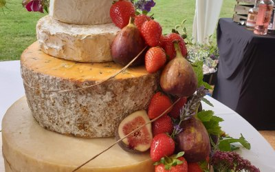 Our Cheese Wedding Cake