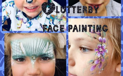 Flutterby Face Painting  2
