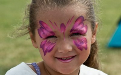 Flutterby Face Painting  4