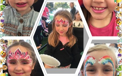 Flutterby Face Painting  5
