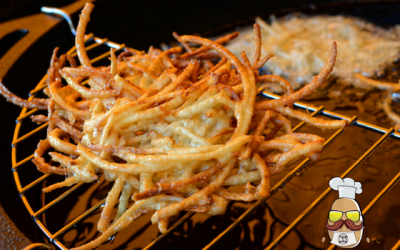 Potato fritter - perfect crispiness