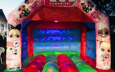 'Lol Surprise' Bouncy Castle