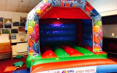 Unisex Party Time Bouncy Castle