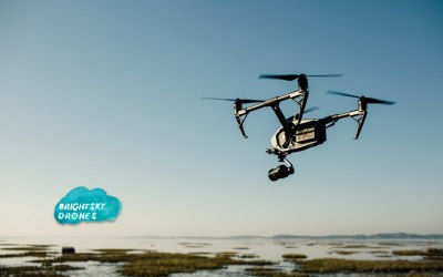 The almighty Inspire, we shoot with this, the Phantom or the Mavic (our quietest least disruptive drone).