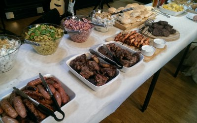 BBQ BUFFET 30th MAY 2015