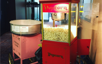 Candy Floss and Popcorn