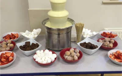Small Chocolate Fountain