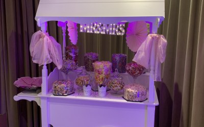 Platinum candy cart package