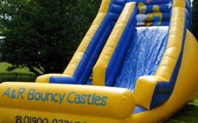 Bouncy Slide Hire in Cumbria