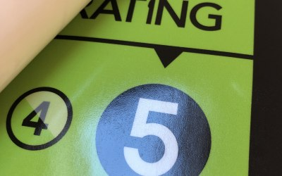 We have a five star food hygiene rating
