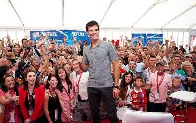 Drivers Lounge British Grand Prix