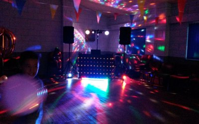 Under 16's Disco Lighting