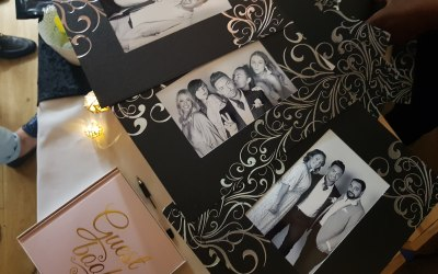 Instant prints with plain, decorative or branded frames