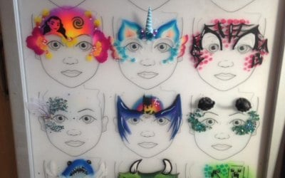 Visions Face and Body Decoration 6