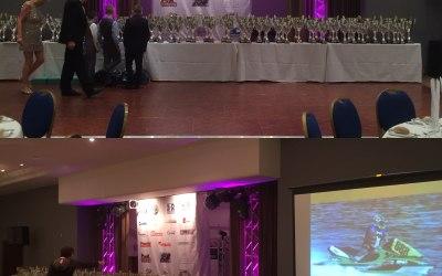 Awards Presentation night.  200 guests Peterborough.