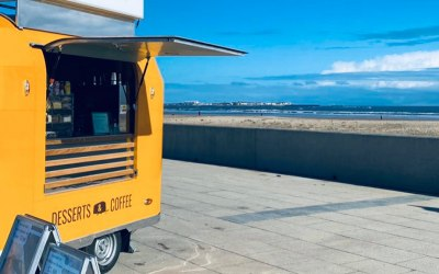 Our new Sunny Rocket Trailer available to hire