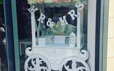 Wedding Candy Cart