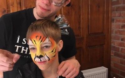 D Kat Face Painting 2