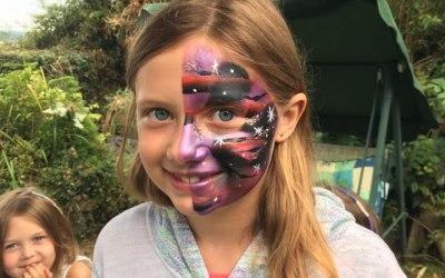 D Kat Face Painting 3