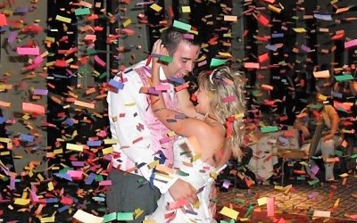 Why not add a confetti cannon at your wedding?