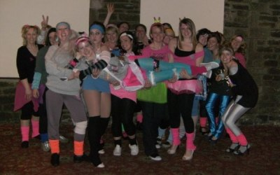80's Dance themed Hen party