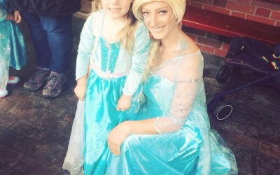 Frozen themed children's party