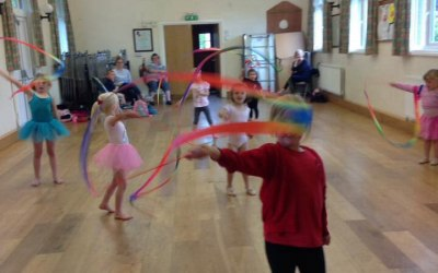 Dance themed children's party