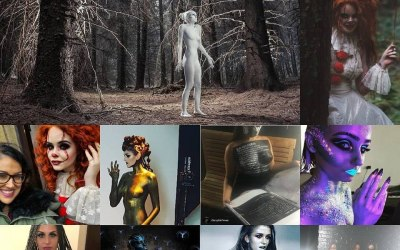 Makeup and Body Paint By Clare Jane 6