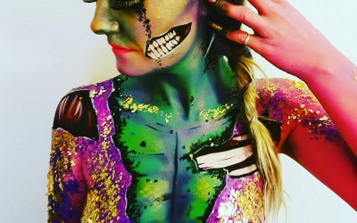 Makeup and Body Paint By Clare Jane 2