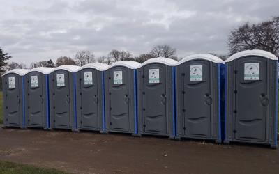 Portable Toilet Hire London 1