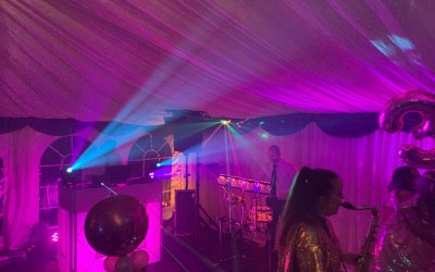DJ, Sax & Percussion for a 30th Birthday Party in Birmingham