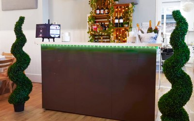 Rustic bar sets ups