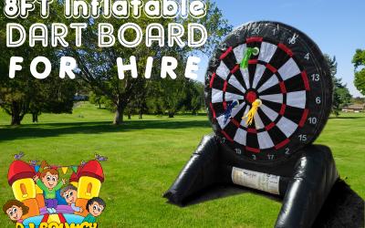 Inflatable Dart Board. Lots of Fun
