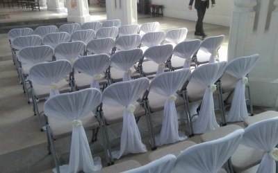 chair covers and decoration