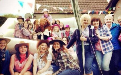 Rodeo Bull Hen Party