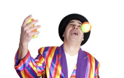 Catchy is a very accomplished Juggler!