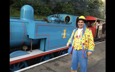 Over 10 years entertaining the crowds at Thomas the Tank Engine Events.