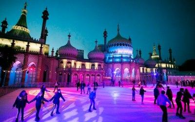 Resident DJ ice rink