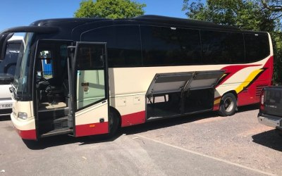 35 Seater with ample luggage space