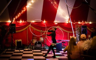 adult circus party theme hire