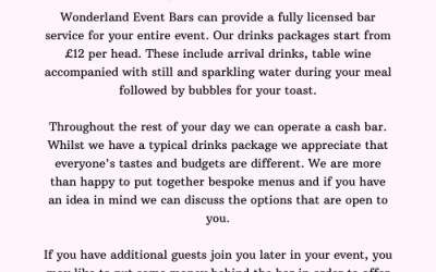 Wonderland Event Bars 9