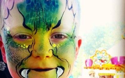 Childrens facepainting Summer Festival 2018